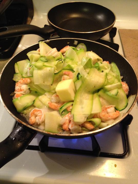 Shrimp & Zucchini